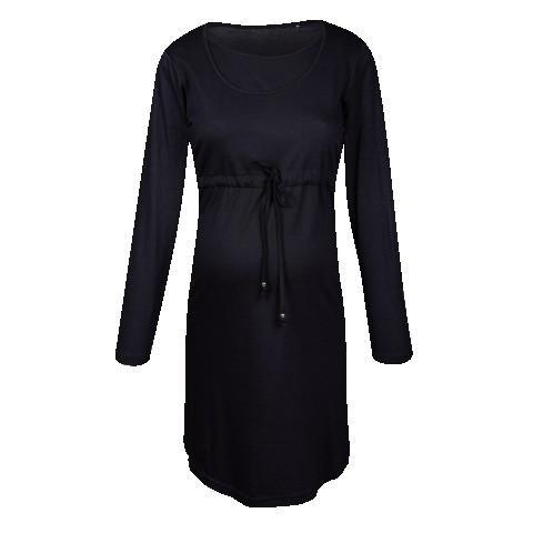 Crna haljina za trudnice