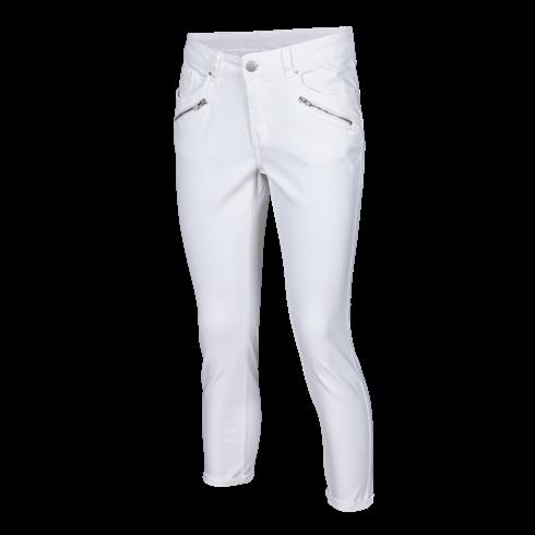 Bijele ženske hlače