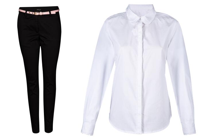 Svečane hlače i bluza