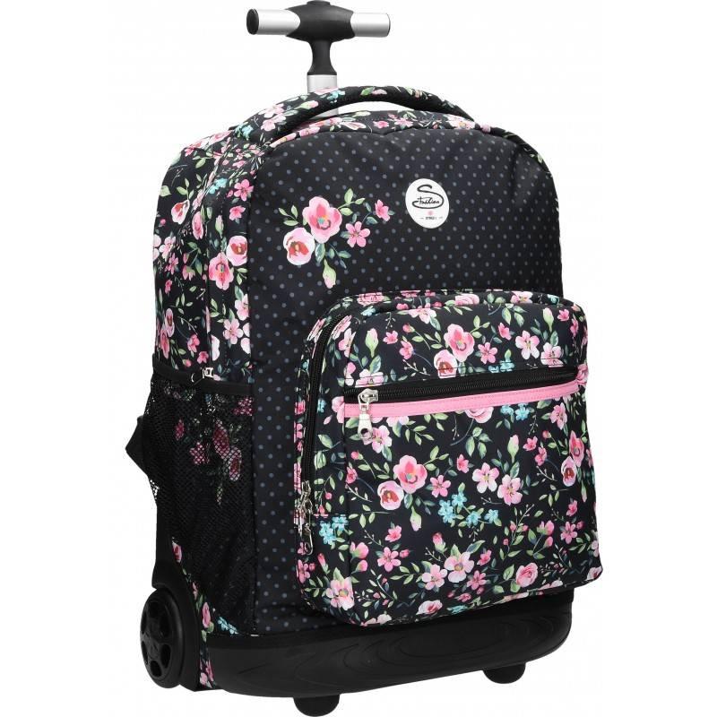 Školska torba na kotačima za djevojćice